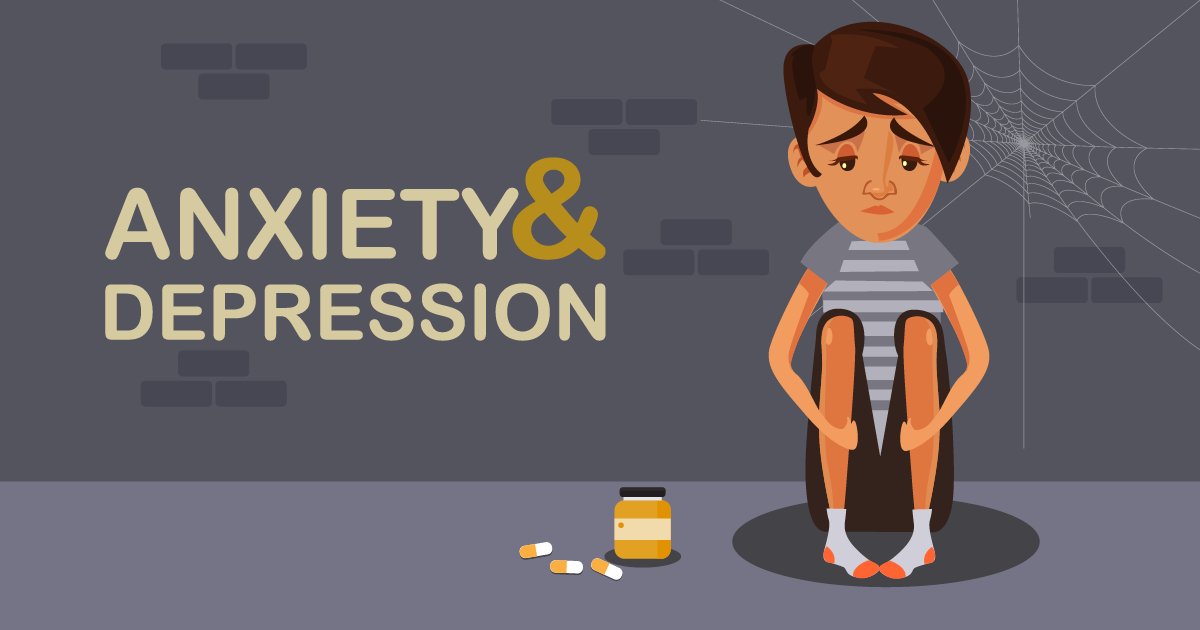How to help a teenager with anxiety and depression?