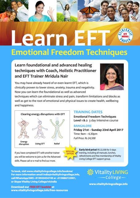 Learn EFT -Emotional Freedom Techniques