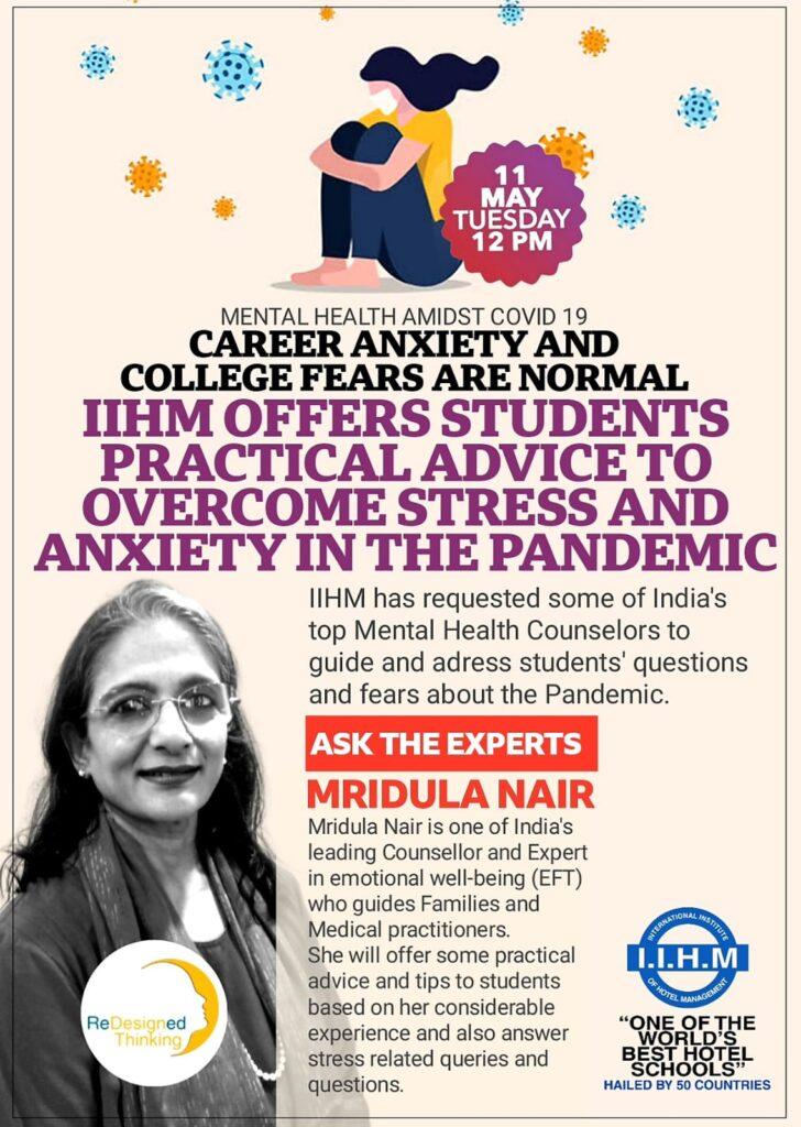 Talk on Emotional Wellness - IIHM Students